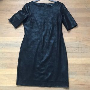 Level 99 size small black suede dress